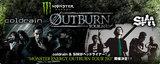 "coldrain & SiMがヘッドライナー!""MONSTER ENERGY OUTBURN TOUR 2013""各地公演のゲスト・バンドにROTTENGRAFFTY、UZUMAKI、NEW BREED、HER NAME IN BLOODら8バンドが決定!"