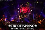 4年振りとなるニュー・アルバム『Days Go By』を引っ提げてのジャパン・ツアーを行ったTHE OFFSPRING。ZEPP DIVERCITY TOKYOにて行われた白熱のライヴ・レポートをアップ!