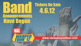 WARPED TOUR 2012にIWABO、WE ARE THE IN CROWDら7バンドが追加に!これで現在51バンド!!