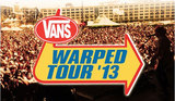 "RISE AGAINST、YELLOWCARDにCrossfaithら7組を発表!今年も海を越えて""Vans Warped Tour '13 UK""の開催が決定!"