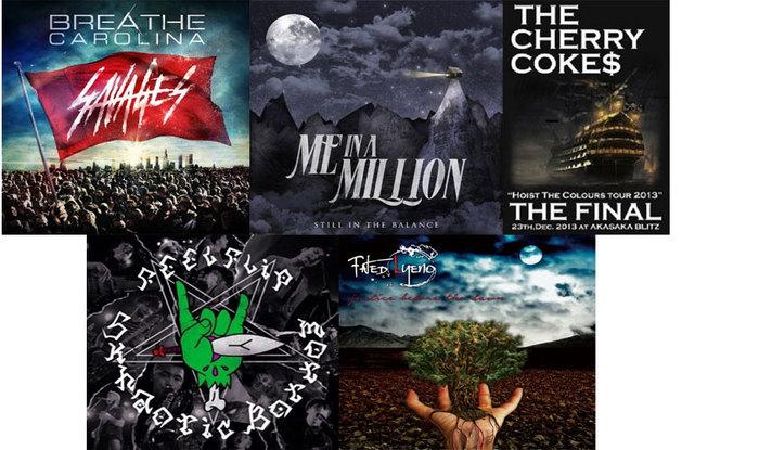 【今週の注目のリリース】BREATHE CAROLINA、ME IN A MILLION、THE CHERRY COKE$、FEELFLIP、Fated Lyenoの5タイトル!