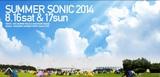 SUMMER SONIC 2014、第17弾アーティストとしてFACT、GALNERYUS、LIFE IS GROOVEらの出演を発表!SONICMANIAにはthe telephones、中田ヤスタカらが追加決定!
