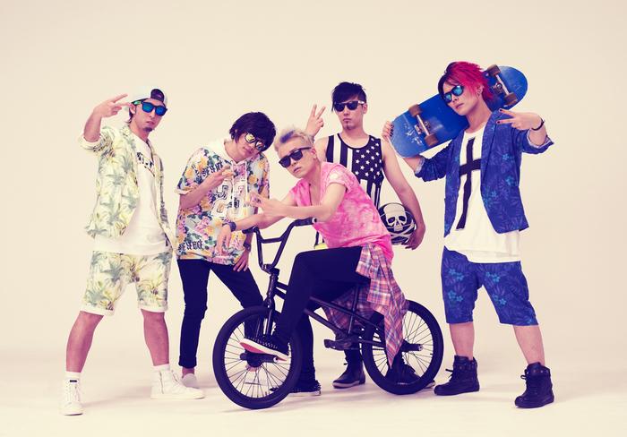 ALL OFF、8/6タワレコ限定リリースのニュー・シングル『Sweet Sweet Crazy』MV&新アー写を公開!