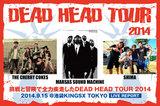 "THE CHERRY COKE$、SHIMA、MARSAS SOUND MACHINEら所属レーベル主催""DEAD HEAD TOUR 2014""のライヴ・レポートを公開!挑戦と冒険で全力疾走したツアー中盤戦、東京公演をレポート!"