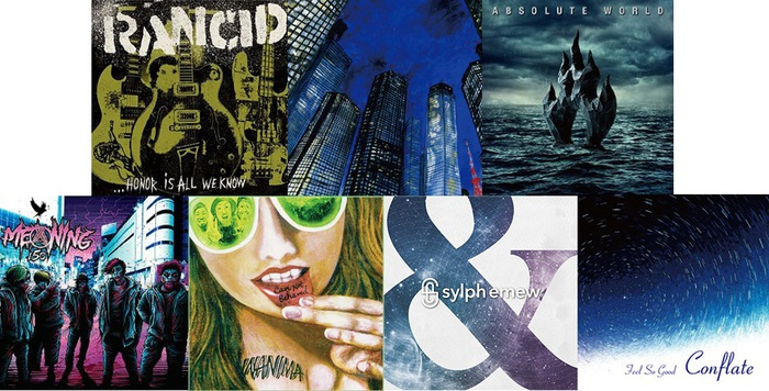 【明日の注目のリリース】RANCID、グッドモーニングアメリカ、ANTHEM、MEANING、WANIMA、sylph emew、Feel So Goodの7タイトル