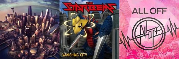 【明日の注目のリリース】FOO FIGHTERS、THE STARBEMS、ALL OFFの3タイトル!