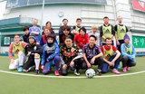 激ロック杯国際親善マッチ!?イングランド代表(ENTER SHIKARI)VS Kuboty(TOTALFAT)率いる日本バンドマン代表フットサル大会が実現!日本チームが2-1で勝利!