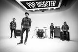 POP DISASTER、交通事故によるメンバーの怪我のため今週末12/12の梅田 Zeela公演の出演をキャンセル