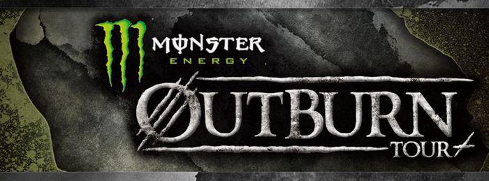 """3月開催の""""MONSTER ENERGY OUTBURN TOUR 2015""""、各地ゲスト・バンドにCrossfaith、The BONEZ、HNIB、AFR、NOISEMAKER、AIR SWELL、ROACHら8組が決定!"""