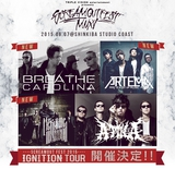 """SCREAM OUT FEST 2015""、第2弾ラインナップにBREATHE CAROLINA、HER NAME IN BLOOD、ARTEMAが決定!4月よりプレ・ツアー""IGNITION TOUR""も開催!"