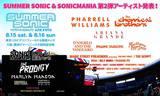 SUMMER SONIC 2015、第2弾ラインナップにMODESTEPら6組決定!ソニマニ第2弾としてKREWELLAら3組も発表!