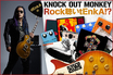 KNOCK OUT MONKEY、dEnkA(Gt)のコラム「Rock聴いtEnkA!?」vol.8を公開!今回はツアー先の楽屋より、ギターリフの王者、Angus Young率いるAC/DCを紹介!