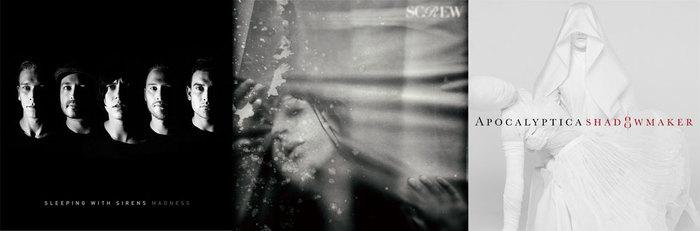 【明日の注目のリリース】SLEEPING WITH SIRENS、SCREW、APOCALYPTICAの3タイトル!