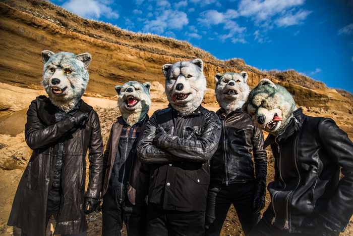 "MAN WITH A MISSION、""MONSTER baSH 2015""に出演決定!"