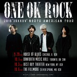 "ONE OK ROCK、9月より北米ツアー[2015 ""35XXXV"" NORTH AMERICAN TOUR]開催決定!"