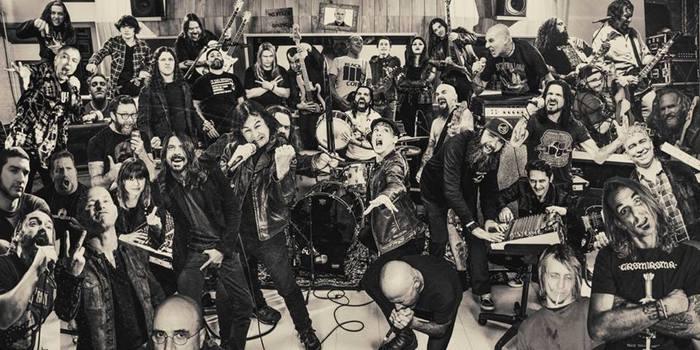 "SLIPKNOT、FOO FIGHTERS、LAMB OF GODのメンバーらによるスーパー・グループ""TEENAGE TIME KILLERS""、7月にリリースするデビュー・アルバム『Greatest Hits Vol.1』より「Ode to Sean Hannity」の音源公開!"