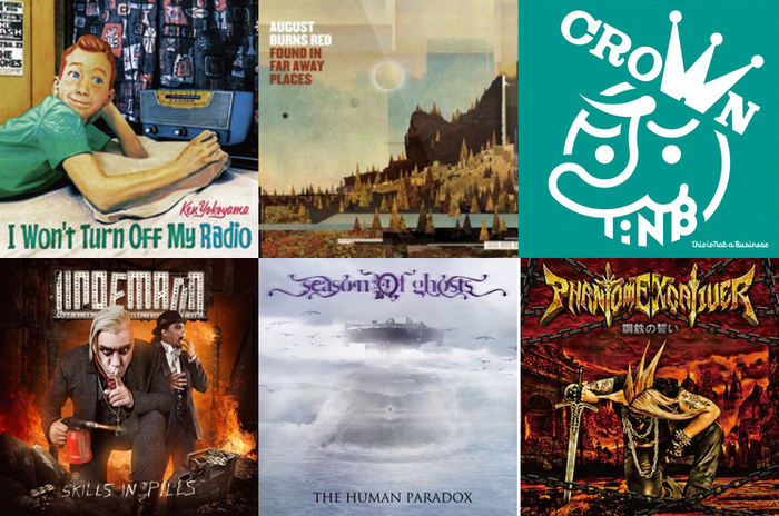 【明日の注目のリリース】Ken Yokoyama、AUGUST BURNS RED、this is not a business、LINDEMANN、SEASON OF GHOSTS、Phantom Excaliverの6タイトル!