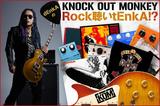 KNOCK OUT MONKEY、dEnkAのコラム「Rock聴いtEnkA!?」vol.14公開!今回は20年ぶりにGUNS N' ROSESに復帰するギタリスト、SLASHを紹介!