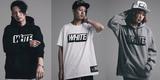 【LILWHITE.の新アイテム本日12時より販売スタート!】インパクトのある3Dロゴが施されたパーカー&Tシャツが登場!