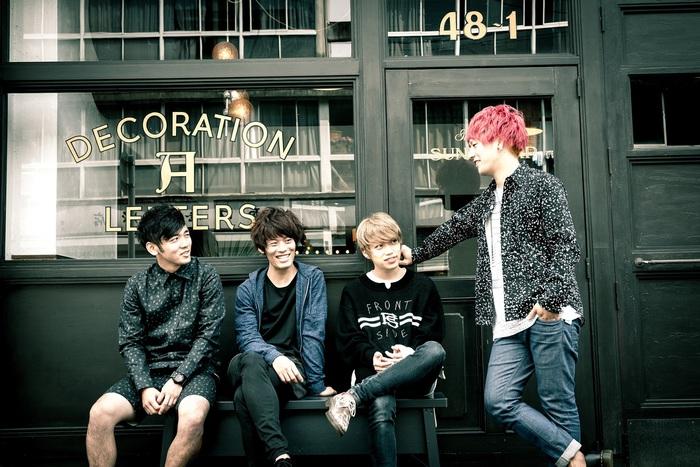 04 Limited Sazabys、10/28リリースのメジャー1stシングル『TOY』の全曲試聴トレーラー公開!