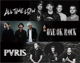 "ALL TIME LOW × ONE OK ROCK × PVRIS、来年1月より東名阪にて""ONE THOUSAND MILES TOUR 2016""開催決定!"