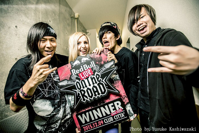 "SALTY DOG、バンド・コンテスト""RED BULL LIVE ON THE ROAD 2015""で優勝!来年1/31(日)24時~MUSIC ON! TVにてライヴの模様を放送!"