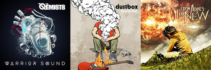 【今週の注目のリリース】THE QEMISTS、dustbox、FROM ASHES TO NEWの3タイトル!