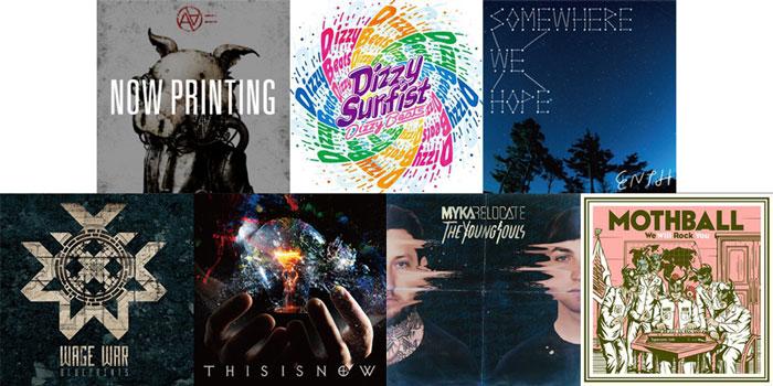 【今週の注目のリリース】AA=、Dizzy Sunfist、ENTH、WAGE WAR、exist†trace、MYKA RELOCATE、MOTHBALLの7タイトル!