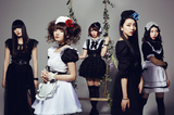 メイド姿のハード・ロック・バンド BAND-MAID、5/18リリースのニュー・ミニ・アルバム『Brand New MAID』のジャケ写公開!6月より全国ツアー開催決定!
