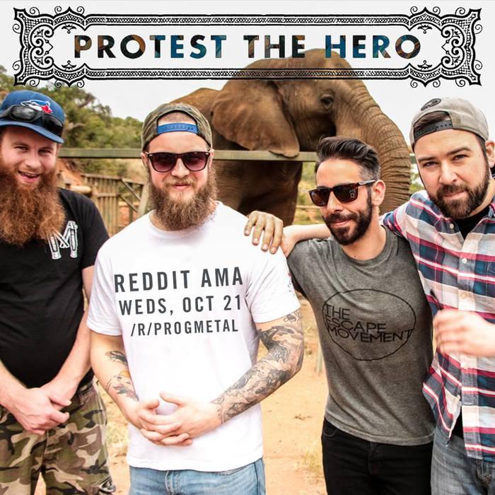 来日間近!プログレッシブ・メタル・バンド PROTEST THE HEROのグッズが一斉入荷!またSCREAM OUT FEST 16で来日のBLESSTHEFALL、GET CAREDのグッズも登場!