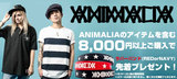 """ANIMALIA ラババン・プレゼントキャンペーン本日スタート!ANIMALIAを""""含む""""\8,000以上ご購入でラバーバンドをプレゼント!"""