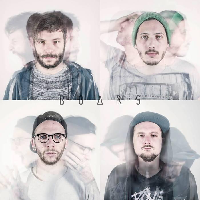 """SMASH HIT COMBOのフロントマン Maxime Keller率いる新バンド""""BOARS""""、新曲「3%」のMV公開!"""