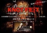 "SLIPKNOT主催""KNOTFEST JAPAN 2016""第2弾発表でMARILYN MANSON、LAMB OF GOD、DEFTONES、DISTURBED決定!特設サイト公開!"
