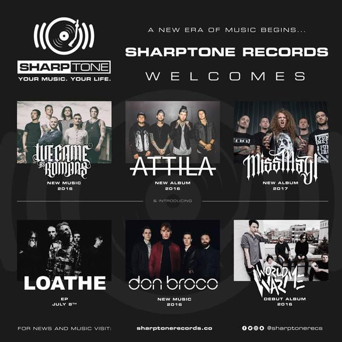 """WE CAME AS ROMANS、ATTILA、MISS MAY Iら、新設レーベル""""SHARPTONE Records""""へ移籍したことが明らかに!"""