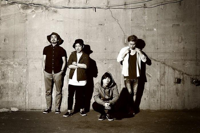 仙台発の4人組ロック・バンド FAKE FACE、8/24にタワレコ限定で1stシングル『Nothing』リリース決定!