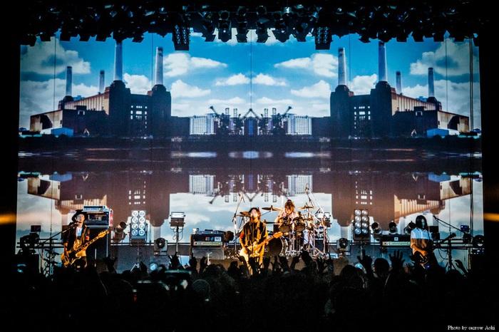 The BONEZ、昨日渋谷TSUTAYA O-EASTにて開催したツアー・ファイナル公演の模様を収録したライヴDVDを9/28にリリース決定!