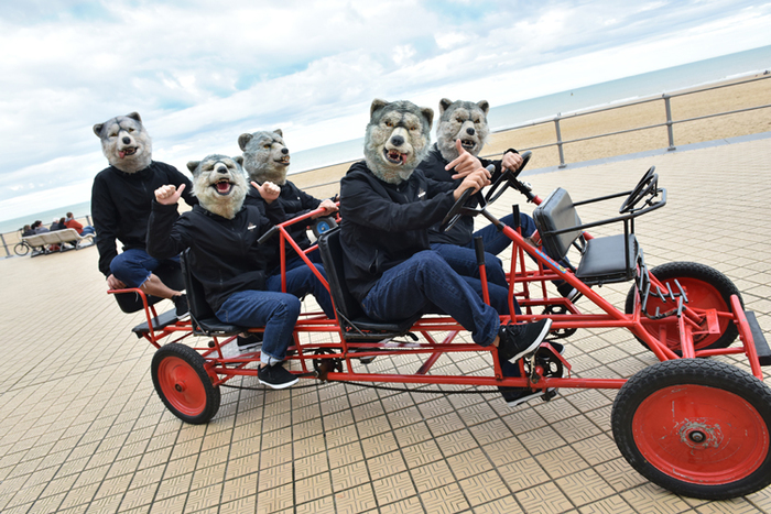 """MAN WITH A MISSION、""""The World's On Fire TOUR 2016""""鹿児島振替公演のゲスト・バンドにSHIMAが決定!"""