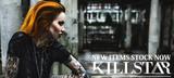 KILL STAR CLOTHING(キルスター・クロージング)よりゴシックな雰囲気漂うマントやドレスをはじめスウェットやロング丈Tシャツなどが一斉入荷!