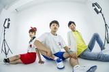 平成が生んだポジティヴ全開3ピース・バンド 3SET-BOB、新アーティスト写真公開!