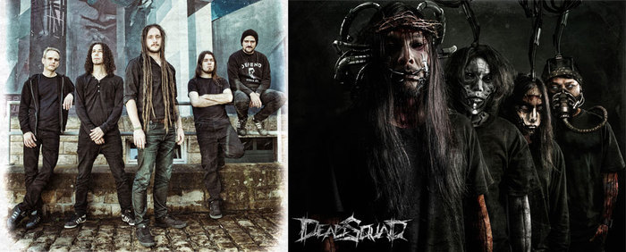 """ヨーロッパのモダン・デスメタル・バンド""""SCARRED""""&インドネシアが誇るデスメタル・バンド""""DEADSQUAD""""、10-11月に2バンドでの初来日公演が決定!"""