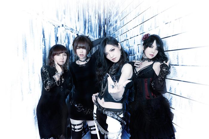 ガールズ・メタル・バンド Mary's Blood、10/26に3rdアルバム『FATE』リリース決定! ゆよゆっぺ(GRILLED MEAT YOUNGMANS)提供曲など収録!
