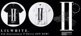 LILWHITE.より2周年を記念した数量限定Tシャツが登場!本日より販売スタート!