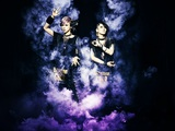 maya(Vo)とAiji(Gt)によるロック・ユニット LM.C、12/21にニュー・アルバム『VEDA』リリース決定! 来年2月より全国ツアーの開催も!