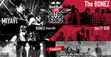 "The BONEZ、MIYAVI、SALTY DOGら出演""RED BULL LIVE ON THE ROAD""ファイナル、いよいよ本日川崎CLUB CITTA'にて開催!"