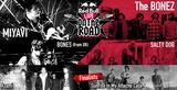 "The BONEZ、MIYAVI、SALTY DOGら出演""RED BULL LIVE ON THE ROAD""ファイナル、いよいよ本日川崎CLUB CITTA'にて開催!"
