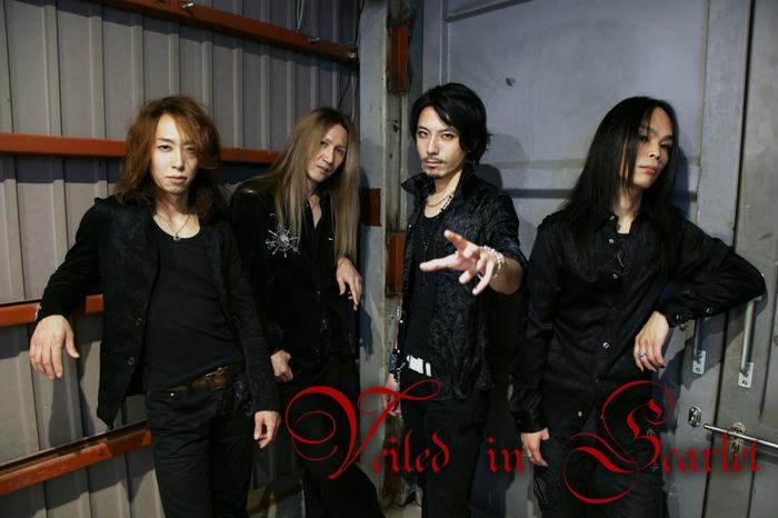 元SERPENTのKeija率いるメロデス・バンド Veiled in Scarlet、12/21にリリースするニュー・ミニ・アルバム『Lament』のトレイラー映像公開!