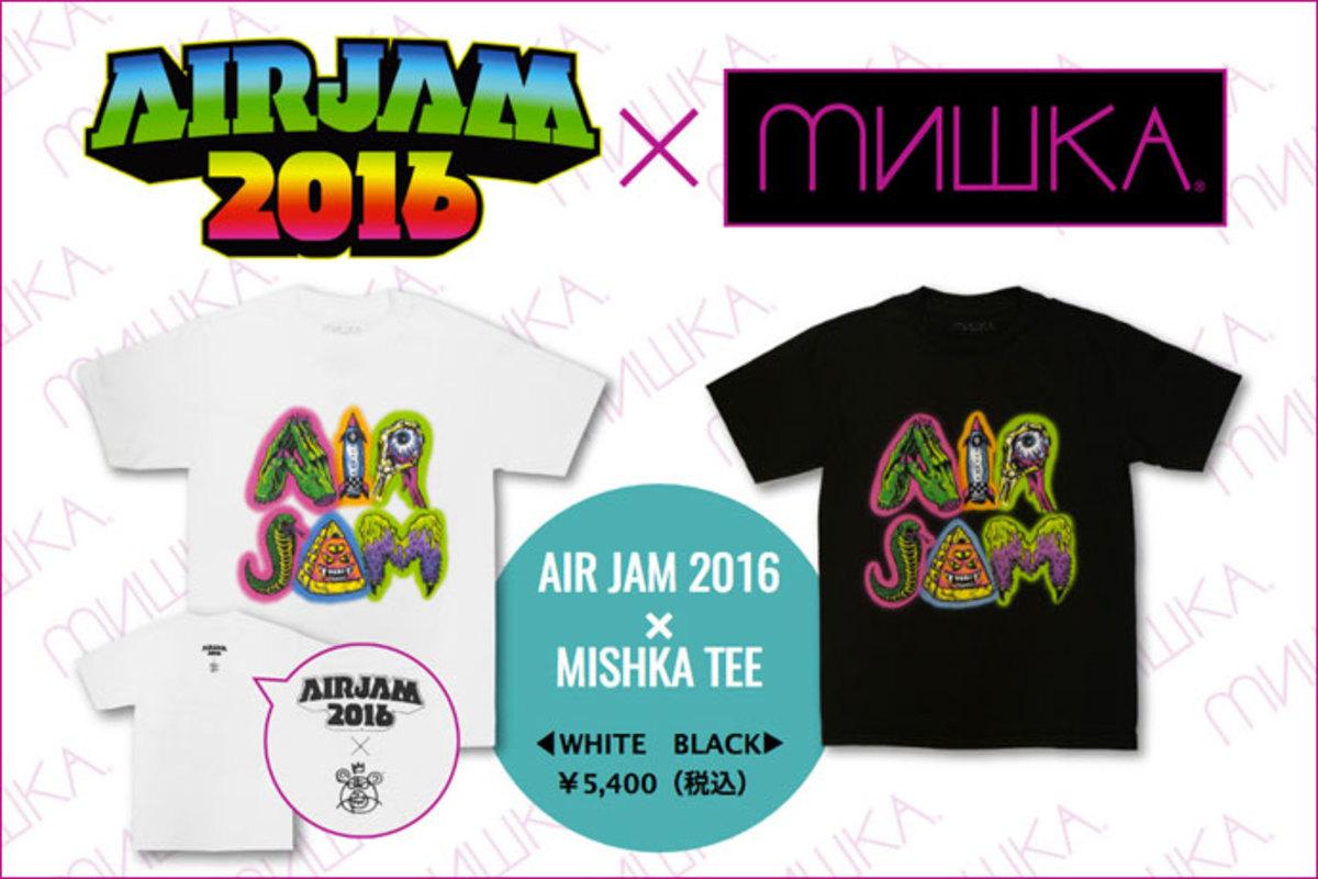 Air Jam 16 Mishka特設ページ公開 パンクとストリートに根差した両者による日本限定スペシャル コラボを大特集 Mishka Tokyo ゲキクロにて好評販売中 激ロック ニュース