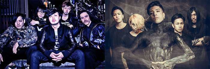 "HONE YOUR SENSE × INCEPTION OF GENOCIDE、1-2月に東名阪ツアー""RAGING STORM TOUR 2017""開催決定!"