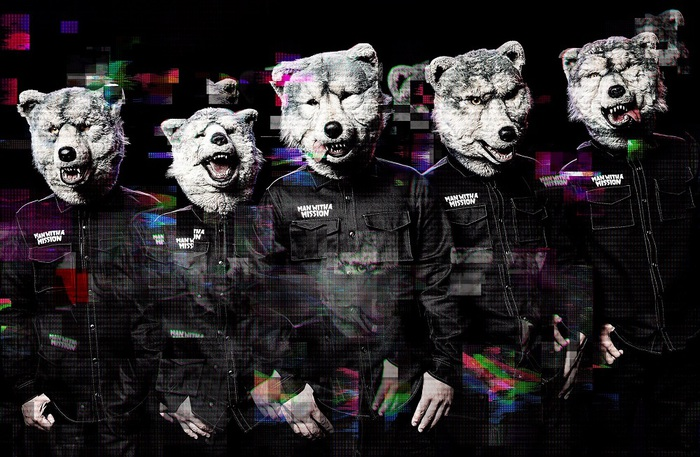 MAN WITH A MISSION、3月より開催の対バン・ツアーにGOOD4NOTHING、dustbox、HAWAIIAN6、SHADOWS、BIGMAMAら出演決定!