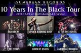 "ASKING ALEXANDRIA、I SEE STARS、BAD OMENSら出演!USの名門レーベル""Sumerian Records""設立10周年記念ツアーのライヴ・レポート公開!"